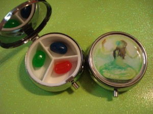 Matched Ally Condie Tablet Container Compact