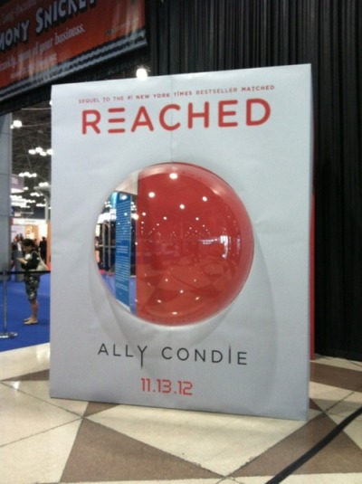Ally Condie Reached Photo Op at BEA Matched Trilogy