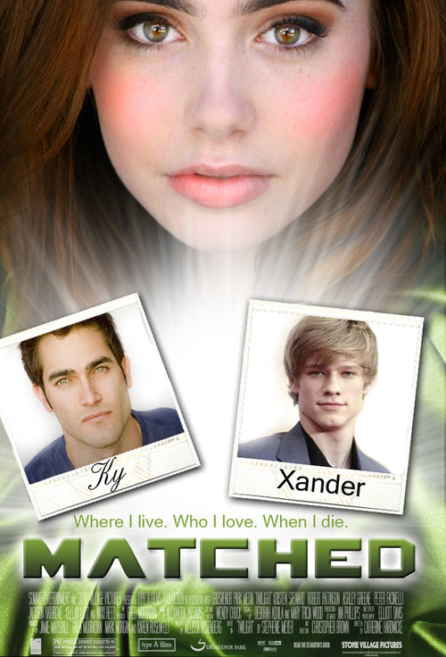 Matched Movie Poster fan art Lily Collins Lucas Till
