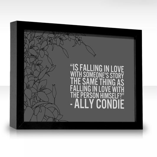 Matched Ally Condie Quote of the Day