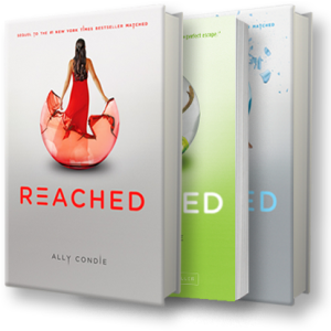 Reached by Ally Condie Matched Trilogy Book Cover