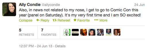 Ally Condie Comic Con